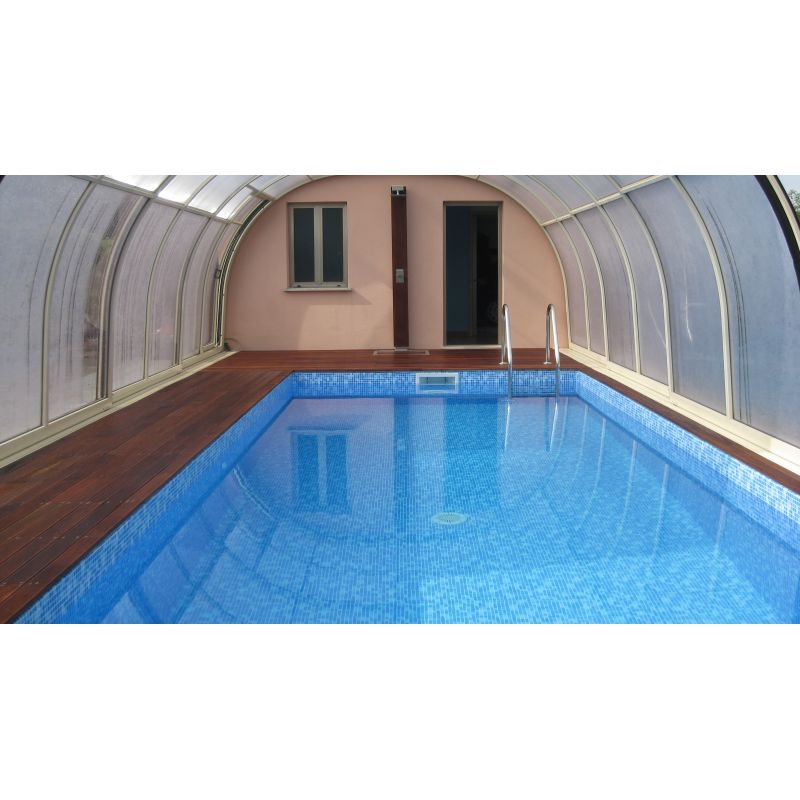 Piscina interrata rettangolare in kit accessori per piscine for Piscina rettangolare