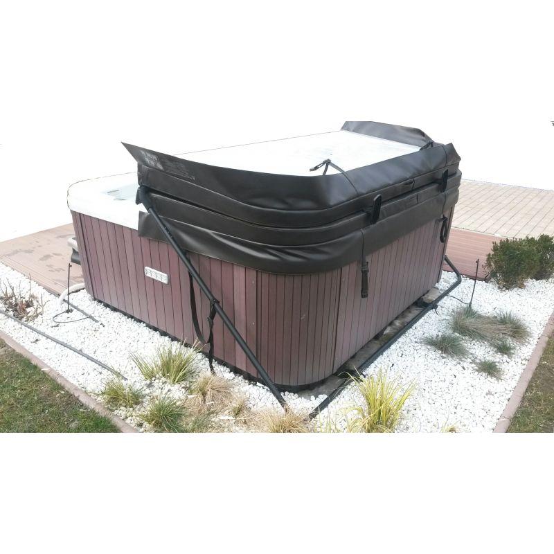 Sollevatore per copertura termica spa accessori per piscine - Copertura termica per minipiscina ...
