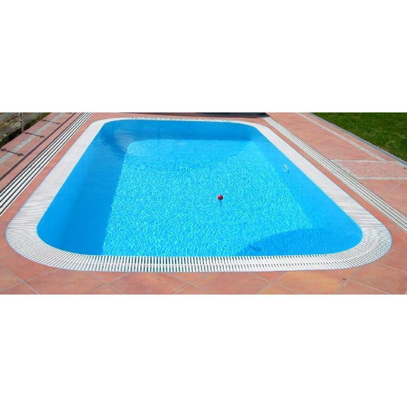 Piscina a sfioro interrata 300x800 cm accessori per piscine - Piscina interrata prezzo ...