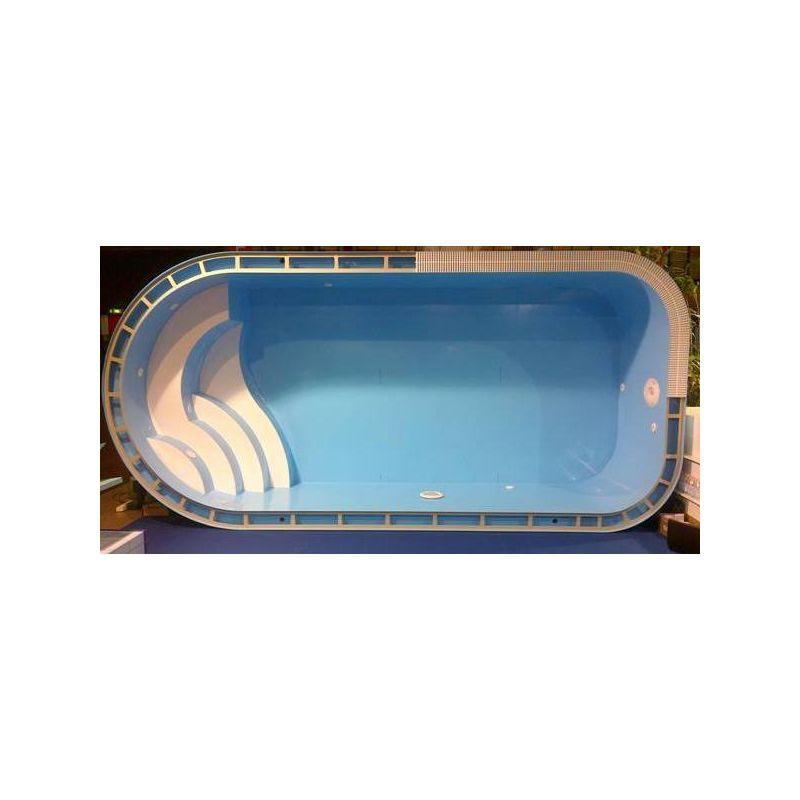 Piscina a sfioro interrata 300x1000 cm accessori per piscine for Accessori per piscine