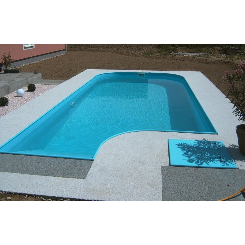 Piscina a skimmer interrata 300x700 cm accessori per piscine for Piscine skimmer