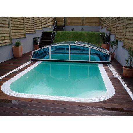 Piscina a sfioro interrata 300x300 cm accessori per piscine for Accessori per piscine