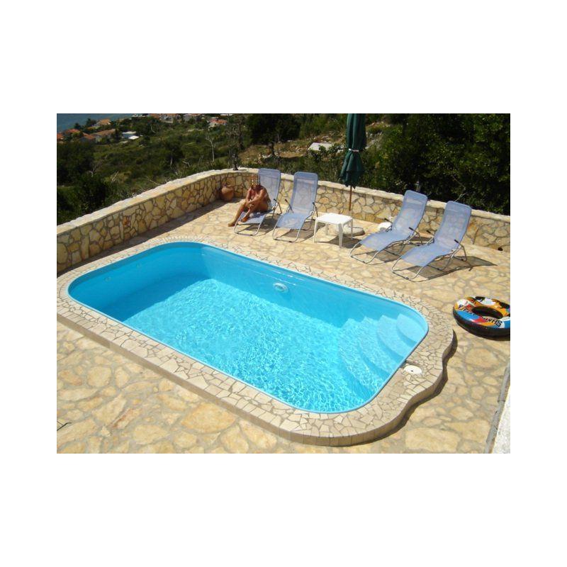 Piscina a skimmer interrata 300x500 cm accessori per piscine - Piscina interrata prezzi ...