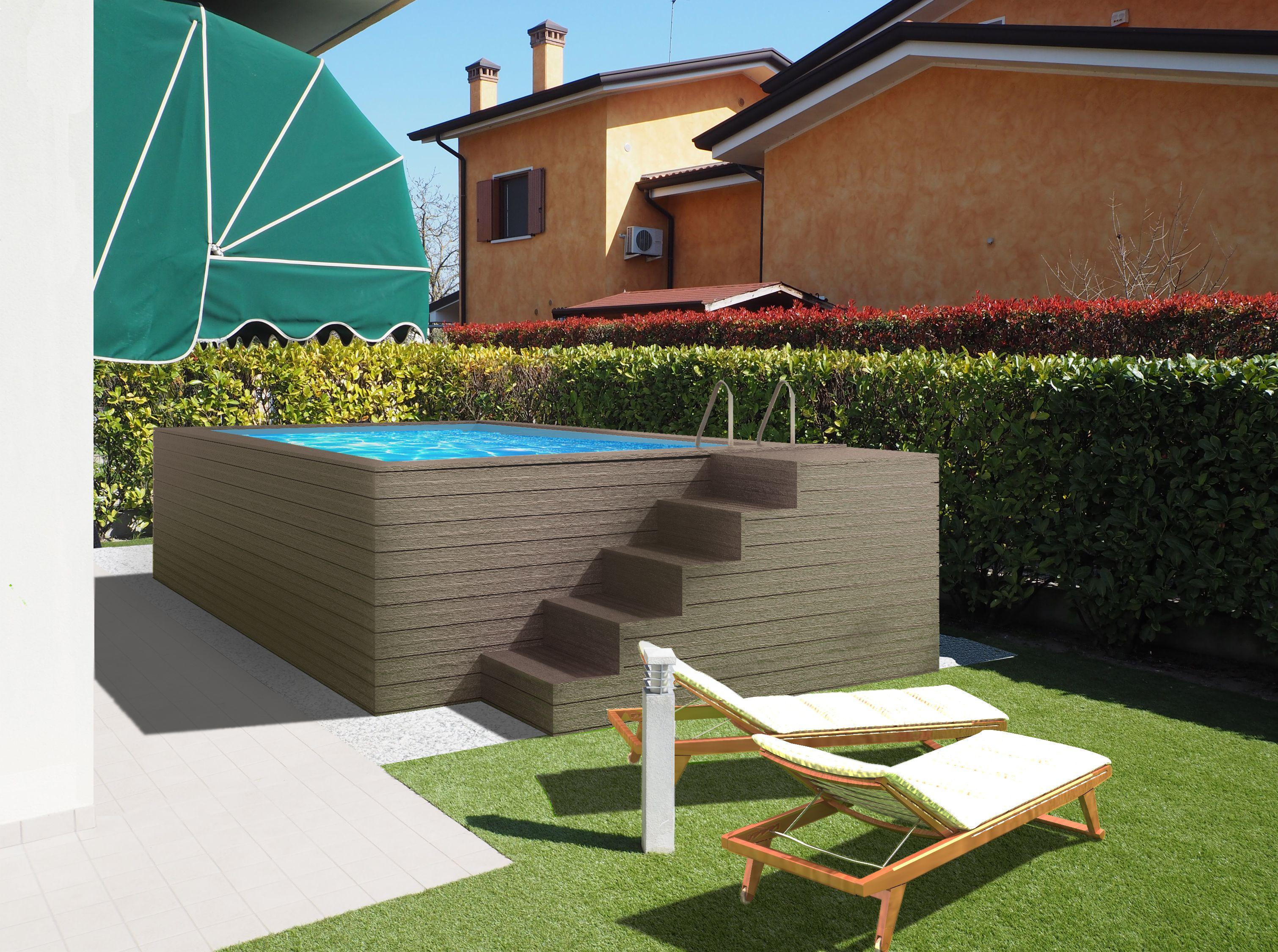 Piscine Esterne In Legno Piscina Violette Terra Pools Gr