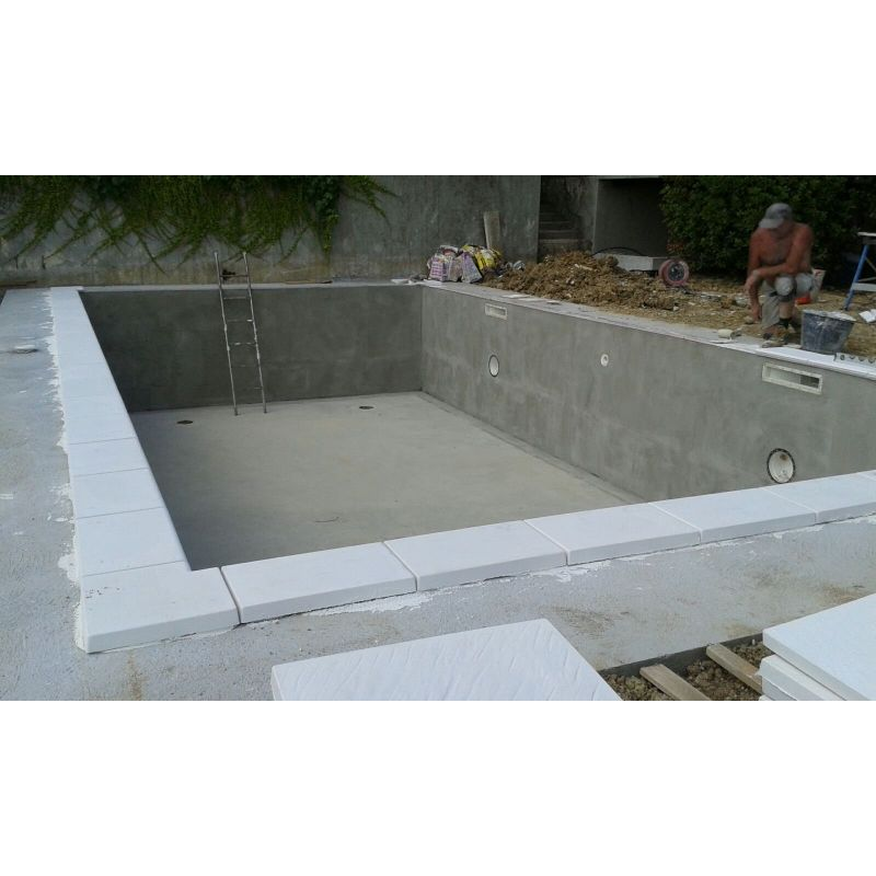 piscina interrata in casseri di polistirolo a perdere