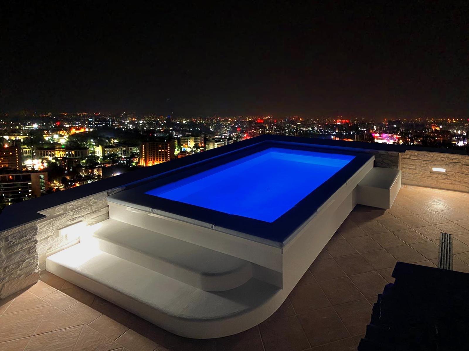 SpaSpace piscina da terrazzo