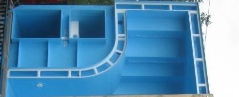 Piscina a sfioro interrata 300x900 cm accessori per piscine - Locale tecnico piscina ...