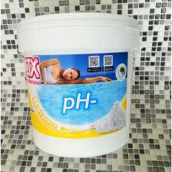 Riduttore PH Piscina - CTX PH Minus granulare