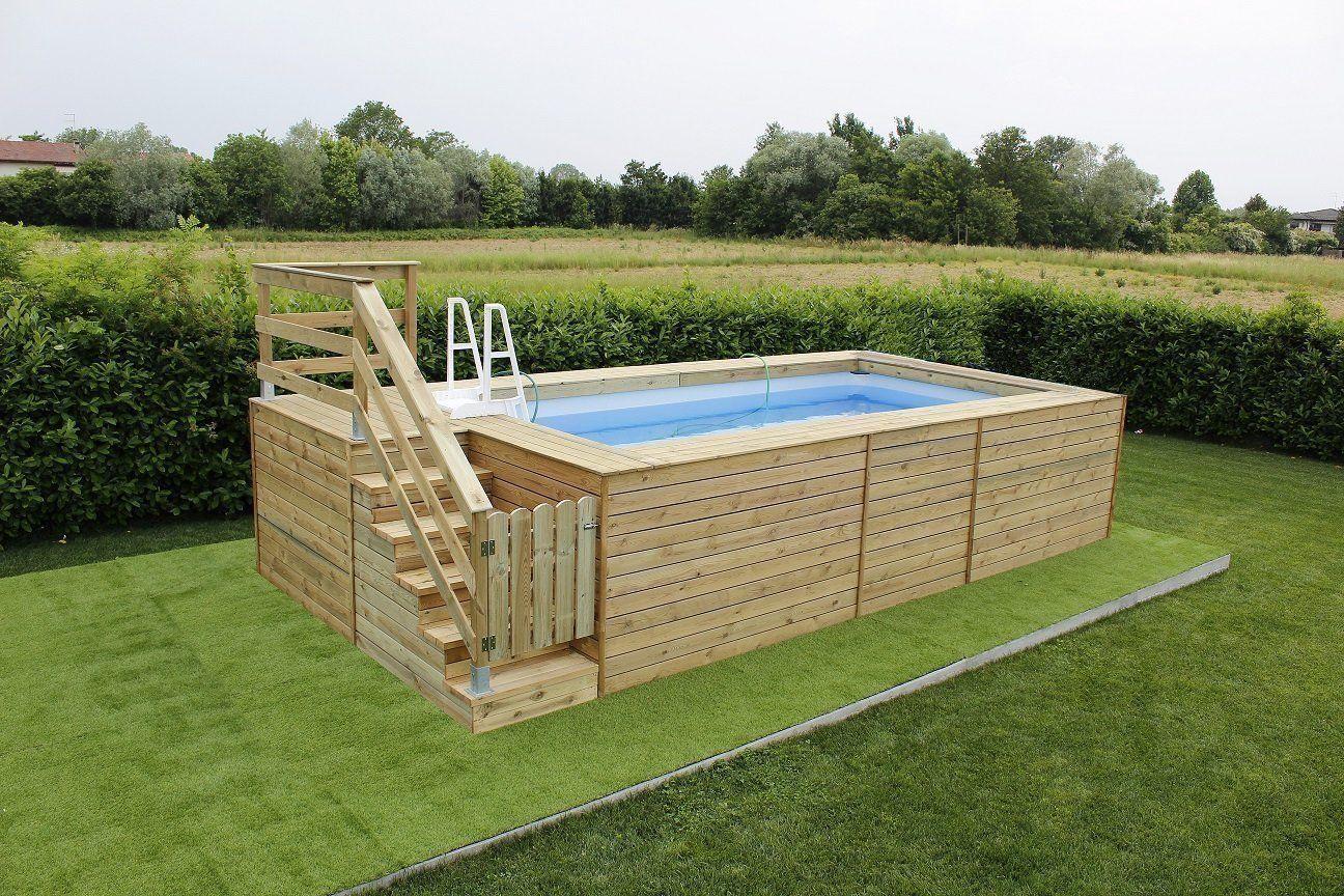 Piscine Interrate Prezzi Tutto Compreso promozione 25 anni: piscina fuori terra con rivestimeto