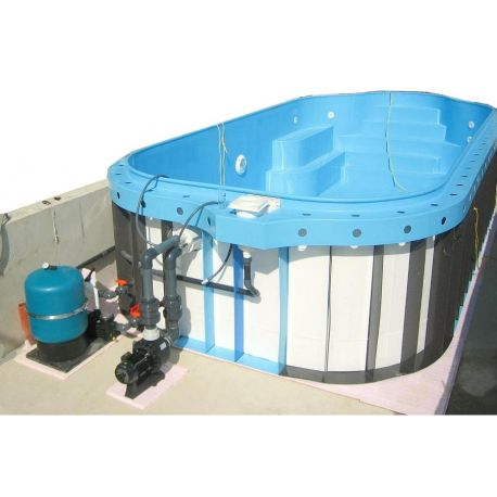 Kit Piscina a skimmer