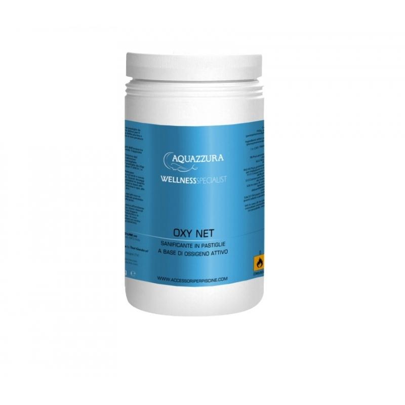 Pastiglie di ossigeno attivo sanificante per il trattamento acqua spa - Ossigeno attivo per piscine ...