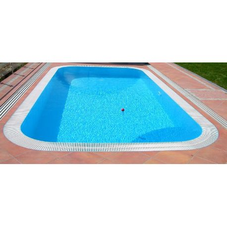 Piscina a sfioro interrata 300x900 cm
